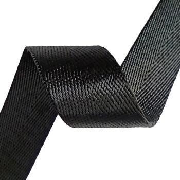 Multi colors Home Textile Soft Comfortable Herringbone Pattern Garment Bag Nylon Webbing Strap Tape