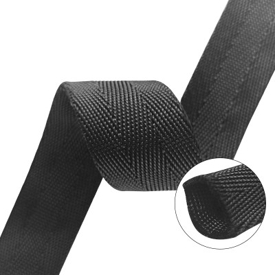 Excellent Quality Durable 1.6mm Thickness Nylon Tubular W Pattern Webbing