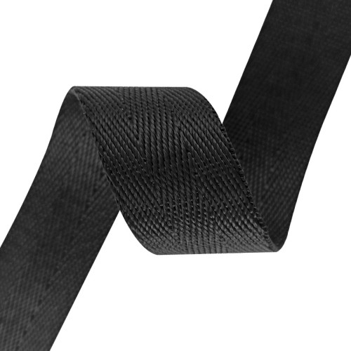 In Stock 25mm width Super Thick 1.6mm Double Twill Nylon W Pattern Webbing For Bags Outdoor Product