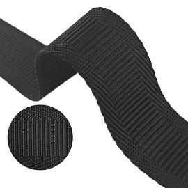 0.8mm Thickness 20mm 25mm Width In Stock Nylon Hemming Horizontal Pattern Webbing