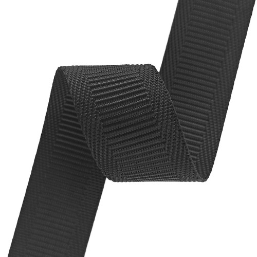 0.8mm Thickness 20mm 25mm Width In Stock Nylon Hemming Horizontal Pattern Webbing