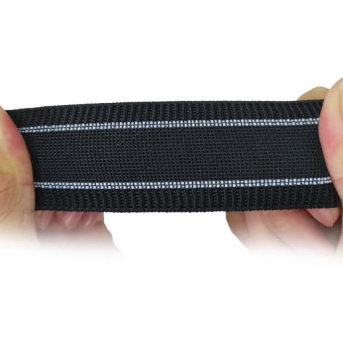 Custom Design Home Textile Bag Webbing 35mm Width Soft Nylon Elastic Band