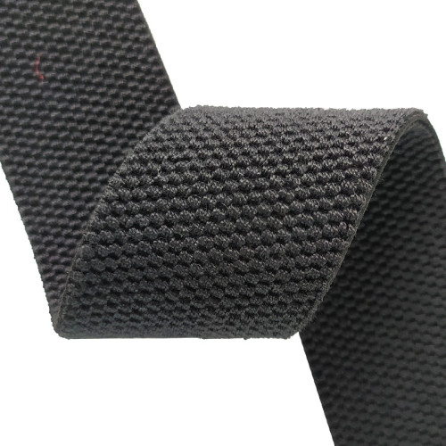Hot Selling Double-Sided Texture 40mm Heavy Elastic Webbing Band Sewing