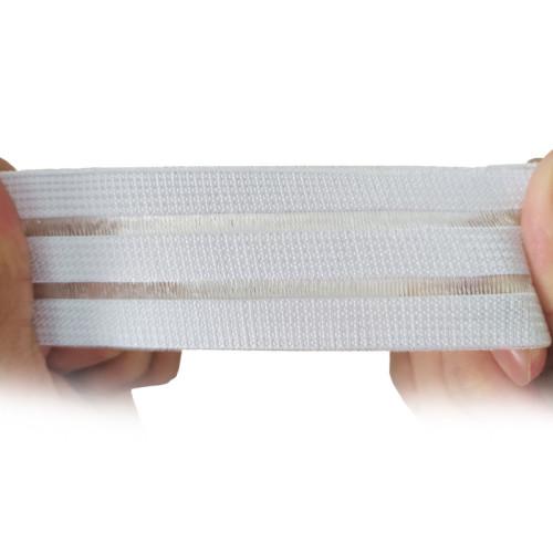Pregnant Women Medical Breathable White 35mm Fish Line Elastic Webbing Strap