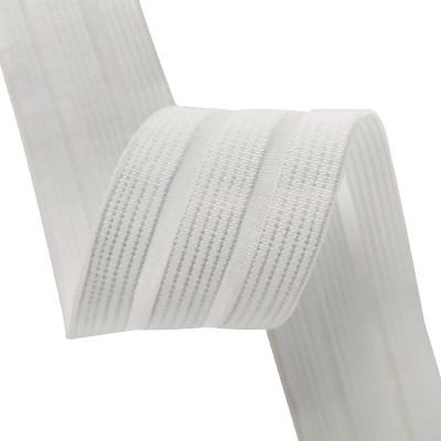 Pregnant Women Medical Breathable White 35mm Fish Line Elastic Webbing Strap