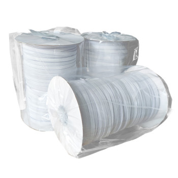 Ready Stock Custom Flat 6mm Width Polyester Elastic Rope For Personal Protective Equipment