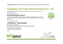 CARB Certificate