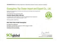 EPA Certificate