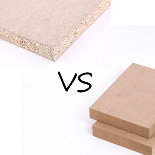 Chipboard VS MDF