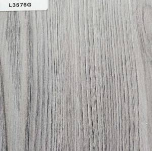 TOPOCEAN Chipboard, L3576G-Quebec Oak Wash White, Wood Veneer.