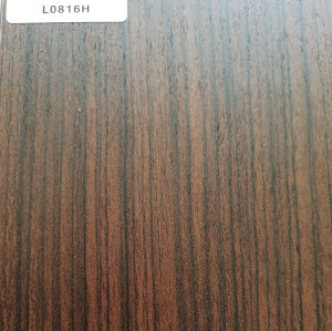 TOPOCEAN Chipboard, L0816H-Elegant walnut, Wood Veneer.