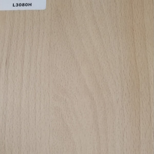 TOPOCEAN Chipboard, L3080H-White beech, Wood Veneer.