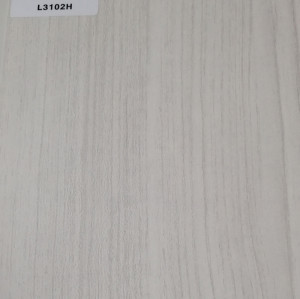 TOPOCEAN Chipboard, L3102H-Snow-printed teak, Wood Veneer.