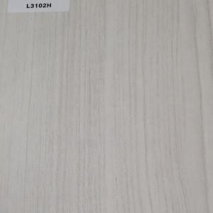 TOPOCEAN Chipboard, L3102H-Snow-printed teak, Wood Veneer.