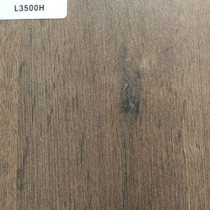 TOPOCEAN Chipboard, L3500H-Aged walnut wood chipboard, Wood Veneer.