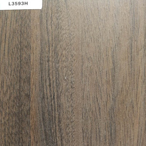 TOPOCEAN Chipboard, L3593H-Nordic walnut wood chipboard, Wood Veneer.