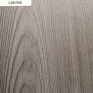 正鼎刨花板,L3575G-魁北克橡木铁灰,贴面板-木材
