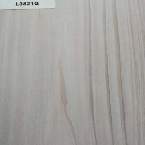 正鼎刨花板,L3821G-台湾铁杉,贴面板-木材