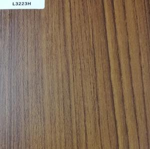 正鼎刨花板,L3223H-天然泰柚,贴面板-木材