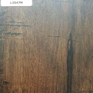正鼎刨花板,L3547H-碳燻橡木,贴面板-木材