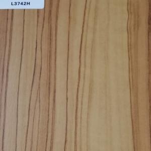 正鼎刨花板,L3742H-橄榄木,贴面板-木材