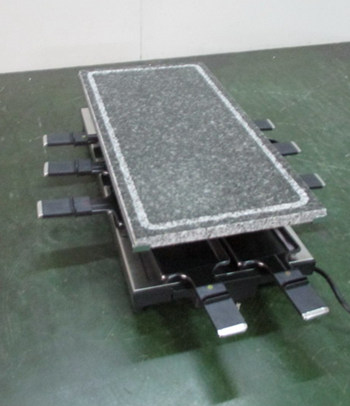 Product Inspection Service for Stone grill,Grills,bake ware,ELECTRIC RACLETTE QTS