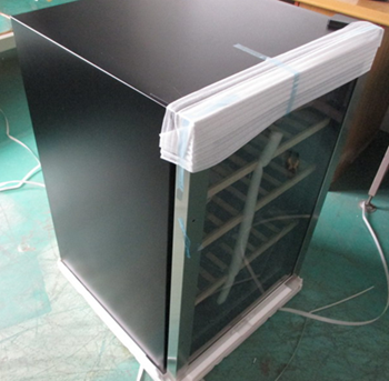 Product Inspection Service for Wine cooler QTS