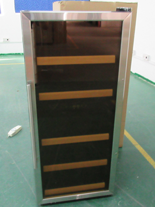 Product Inspection Service for Wine cooler|QTS