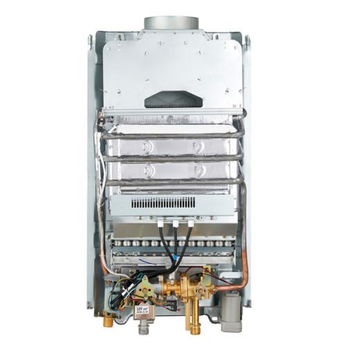 10L نوع المداخن النمط الأوروبي لحظة tankless سخان المياه الغاز WM-FD03