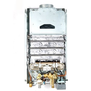 6L-12L نوع المداخن النمط الأوروبي tankless سخان الماء الساخن WM-FD04
