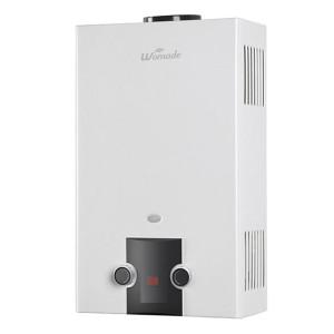 6-12L نوع المداخن النمط الأوروبي tankless سخان الماء الساخن WM-FD01