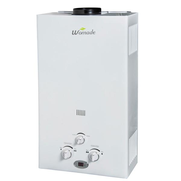 6L-12L نوع المداخن tankless الغاز سخان المياه WM-FL01