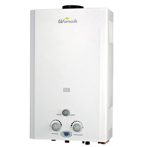 6L-12L نوع المداخن tankless الغاز سخان المياه WM-FL02