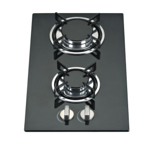 Top quality double burner powerful flame for cooking gas cooker