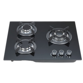 China manufacturer three burner build in gas hobs