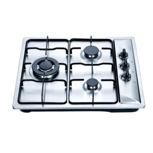 Three burner gas cooker powerful flame for different cooking way