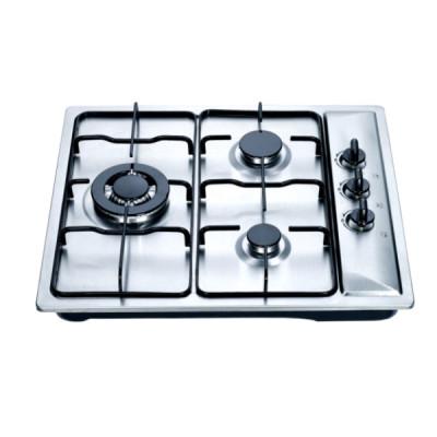 ثلاثة شعلة غاز طباخ لهب قوي لطريقة الطبخ المختلفة