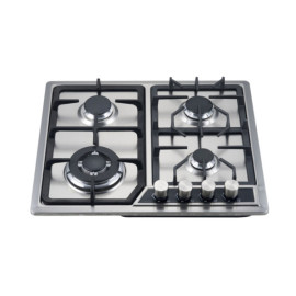 Glass top or S.S top four burner build in gas hobs  WM-60109CCD