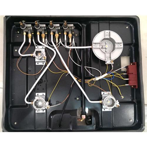 قوي لهب 4 طباخ غاز الموقد WM-6023ACCD