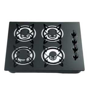 Lifelong glass top 4 burner gas cooker WM-6022BCCD