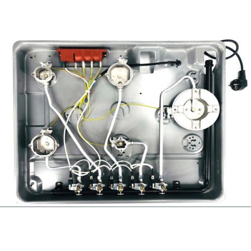 5 شعلات موقد غاز قوي عالي الجودة لطريقة الطهي المختلفة WM-6801ABBCD