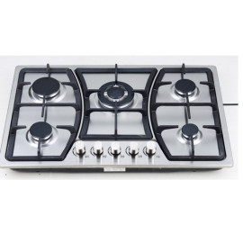 Stainless steel 5 burner gas hob WM-8013ABCCD