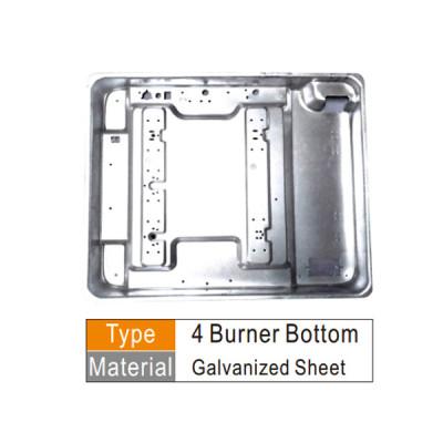 C.K.D مكونات طباخ الغاز الموقد أسفل ورقة المدرفلة على البارد أو المجلفن