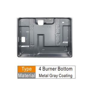 C.K.D Components gas cooker burner bottom Cold rolled or galvanized sheet
