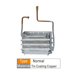 Pure copper heater exchanger for different model gas water heater