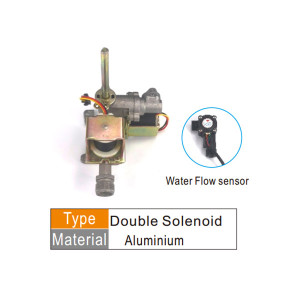 Gas water linkage valve for gas water heater