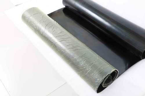 جيد للأغراض العامة 5MM سمك ورقة المطاط الصناعي الأسود لفة
