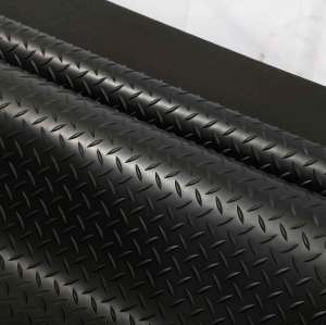 Wholesale non-slip checker plate rubber mating sheets for flooring Checker rubber sheet