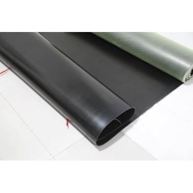 Process requirements of rubber sheet