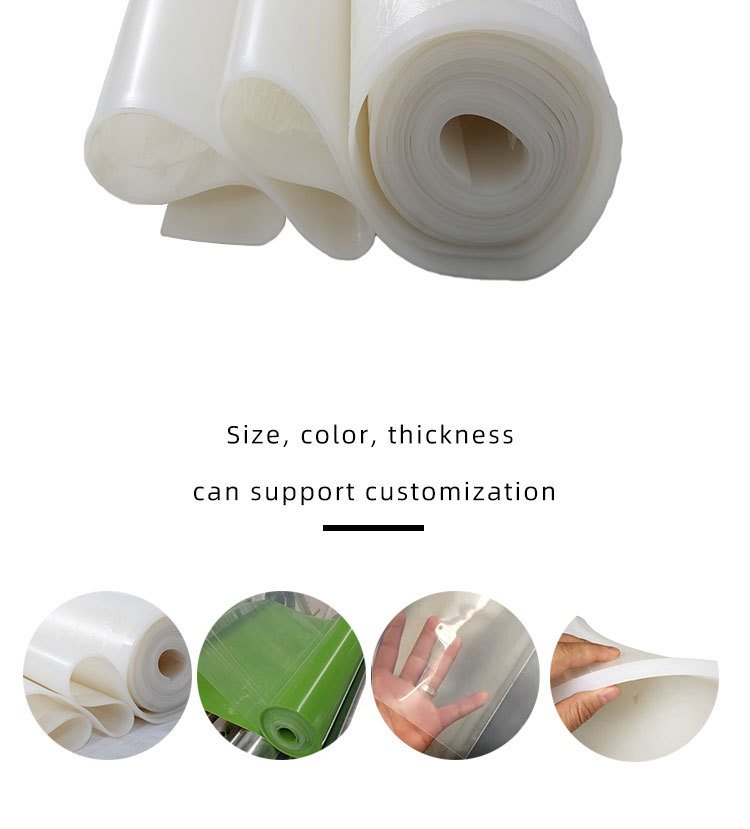 1mm Food grade Heat Resistance silicone sheet roll